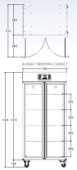 tall warming cabinet 2 | Blanket and Fluid Warming Cabinets | Fluid warming cabinets